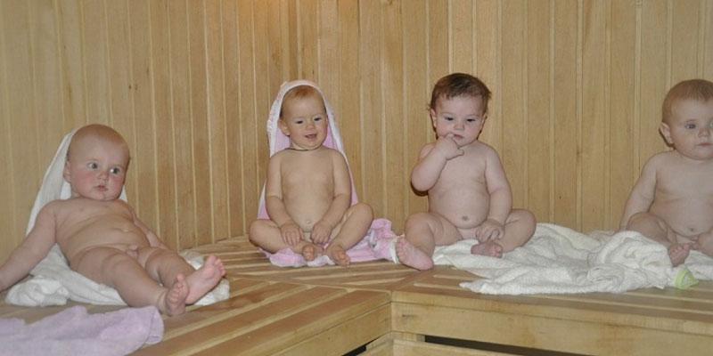 Можно ли детям в баню: с какого возраста? 4-11